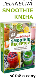 Smoothie kniha  - 107 receptov